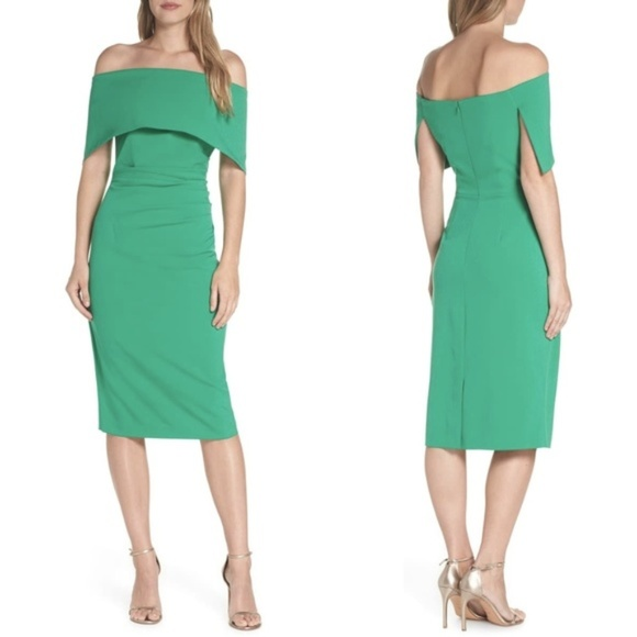 Vince Camuto Dresses & Skirts - VINCE CAMUTO Green Popover Dress 10